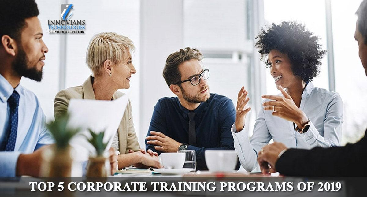 Top 5 Corporate Training Programs of 2019